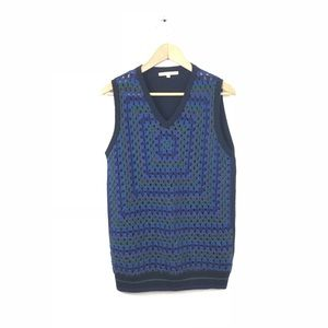 Christopher Kane Crochet Sweater Vest Tank Top L